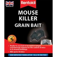 Rentokil Mouse Killer Grain Bait Sachets - 5 Pack