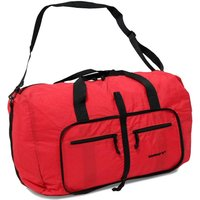 Rock Members Small Ultra Lightweight Foldaway Holdall - Red