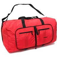 Rock Members Large Ultra Lightweight Foldaway Holdall - Red