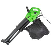 Charles Bentley 3000W Electric 3 in 1 Leaf Blower, Vacuum, Shredder