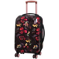 IT Luggage Virtuoso Small 100% Polycarbonate Hard Shell Cabin Suitcase - Floral Print
