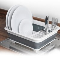 Beldray Collapsible Dish Drainer - Grey