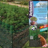 Defenders All-In-One Garden Fence Kit - 10m
