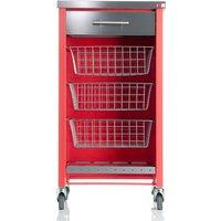Hahn Chelsea Kitchen Trolley - Red