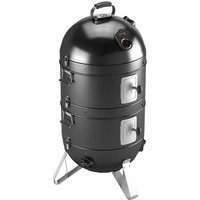 "Fornetto Razzo 22"" Charcoal BBQ, Grill and Smoker - Black"