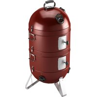 "Fornetto Razzo 18"" Charcoal BBQ, Grill and Smoker - Red"