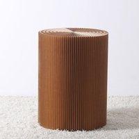 Paper Lounge 38cm Stool - Brown