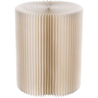 Paper Lounge 38cm Stool - White