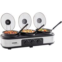 Cooks Professional 3-Pot Slow Cooker