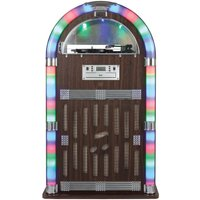 Itek Bluetooth Jukebox with CD Player, Radio and Turntable