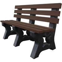 NBB Recycled Furniture NBB Recycled Multipurpose 3-Seater Bench - Brown