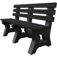 NBB Recycled Furniture NBB Recycled Multipurpose 3-Seater Bench - Black