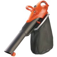 Flymo Sirocco 3000W 3-in-1 Electric Garden Vacuum, Leaf Blower and Shredder Mulcher with Large 45L Collection Bag and 12m Cable