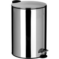 Premier Housewares 20L Pedal Bin - Stainless Steel