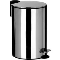 Premier Housewares 12L Pedal Bin - Silver