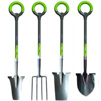 Radius Pro Lite Spade, Shovel, Transplanter and Fork Garden Tool Set
