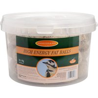 Johnston & Jeff 90g Suet Fat Balls - 50 Pack
