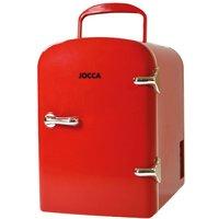 Jocca Portable Mini Fridge - Red