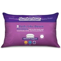 John Cotton Group Slumberdown Feels Like Down Pillow - 2 Pack