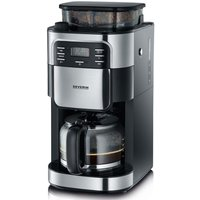 Severin KA4810 Coffee Maker with Built-In - Stainless Steel