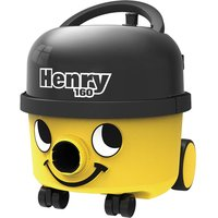 Numatic Henry HVR160 Compact Cylinder Vacuum Cleaner - Yellow