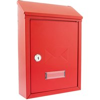 Sterling Avon Compact Post Box - Red