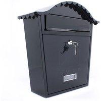 Sterling Classic Post Box - Black
