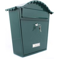 Sterling Classic Post Box - Green
