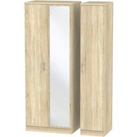 Yelanto Triple Door Wardrobe - Oak