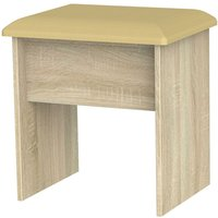 Yelanto Padded Stool - Oak