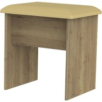 Yelanto Padded Stool - Dark Oak