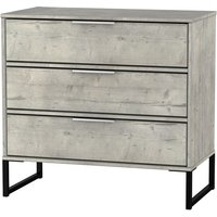 Kishara 3-Drawer Chest - Stone