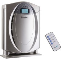 PureMate PM 500 True HEPA Air Purifier with Ioniser - Silver
