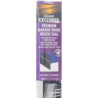 Stormguard Garage Door Brush Seal - Aluminium