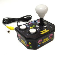 Space Invaders TV Arcade Plug and Play Arcade Video Game - Black