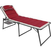 Quest Bordeaux Pro Lounger with Side Table