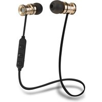 Groov-e Bullet Buds Wireless Metal Earphones with Remote and Mic - Gold