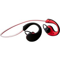 Groov-e Action Wireless Sports Earphones with LED Neckband - Red