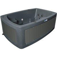 RotoSpa DuoSpa Compact S080 Hot Tub - Dark Grey