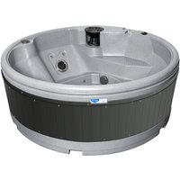 RotoSpa QuatroSpa Hot Tub - Light Grey