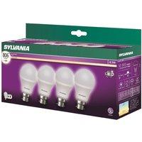Sylvania LED B22 8.5W Vintage Lamp - 4 Pack