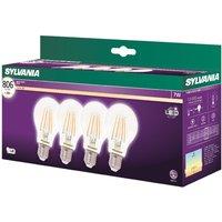 Sylvania LED 7W E27 Vintage Lamp - 4 Pack