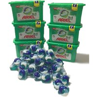 Ariel 3 in 1 Regular Washing Machine Pods - 12pk x 6 (72 Washes)