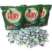 Fairy Original Dishwasher Tabs - 3 x 84pk (252 Washes)