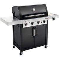 Char-Broil Professional 4400S 4 Burner Gas BBQ - Black