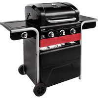 Char-Broil Gas2Coal 330 Gas/Charcoal BBQ - Black