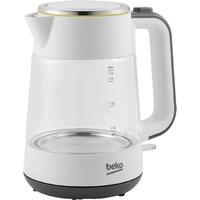 Beko New Line 1.7L Glass Kettle - White