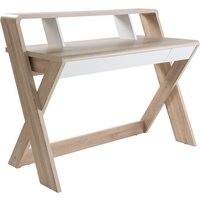 Alphason Aspen Desk - Light Oak