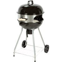 Flamemaster Kettle 18-inch BBQ with Pizza Oven Extension