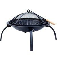 Flamemaster Fire Pit BBQ